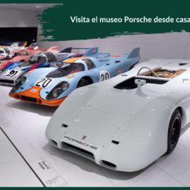visita el museo Porsche